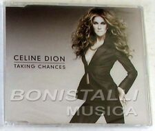 CELINE DION - TAKING CHANCES- CD Single Sigillato + Video