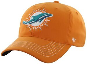 Miami Dolphins NFL Men's '47 Game Time Closer Stretch Fit Hat, One Size