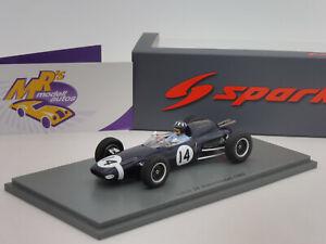 "Spark S7122 # Lotus 24 Kanonloppet aus der Formel 1 1962 "" Graham Hill "" 1:43"