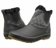 "5"" Keen Elsa Women's Waterproof Boot Leather Woman's Ankle Boot Black/Grey"