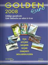 *@ SUPER OFFERTA : CATALOGO GOLDEN €URO 2008 - NUOVO *** @*