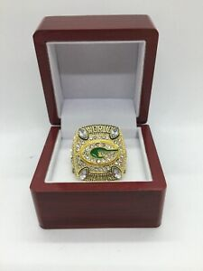 2010 Green Bay Packers Aaron Rodgers Super Bowl Championship Ring Set with Box