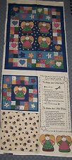 Angel Patchwork Fabric Quilt Wall Hanging Pillow Panel Cotton