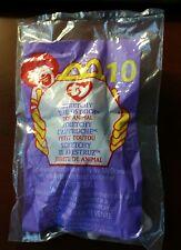 """Mcdonalds Happy Meal Toy 99 #10 Ty Teenie Beanie Baby """"Stretchy the Ostrich"""" Nip"""