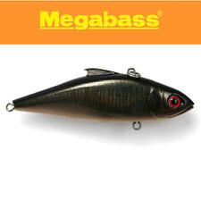 MegaBass Lip Less crankbait made in Japan Lure;GG MIDNIGHT BLACK