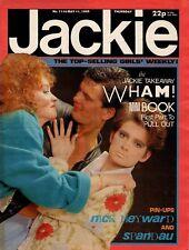 Jackie Magazine 11 May 1985 Issue 1114    Wham!    Martin Kemp of Spandau Ballet