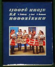 BOOK Czech Moravian Folk Costume Hodonin kroj apron embroidered ethnic fashion