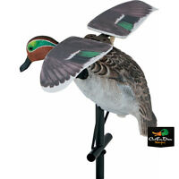 NEW LUCKY DUCK LUCKY FLAPPER GREEN WING TEAL HD FLAPPING MOTION DECOY