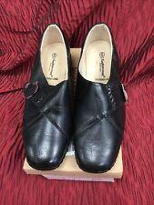 Cushion Walk Shoes Ladies Black Size 5 EEE NWB