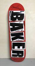 Baker Skateboard Deck Signed By The Team 2013