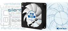 Arctic F8 Silent, 80mm 8cm PC Case Fan, High Performance 6 Year Warranty