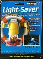 LED Safety Strobe Life Vest Boat Flashing LED Light Jet Ski Strobe Float Water