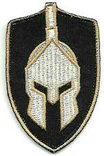 "2 3/4"" Tan Coyote Spartan Helmet Molon Labe Patch VELCRO BRAND Hook"