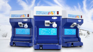 Electric Commercial Snow Cone Machine Ice Shaver Ice Crusher