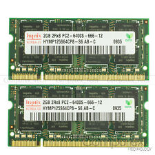 New Hynix 4GB KIT (2x2GB) PC2-6400 DDR2-800MHz 200pin Sodimm Laptop Memory RAM