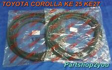 Toyota Corolla KE20 2DOOR TE21 Coupe weatherstrip Door Rubber seal  2 pcs L&R