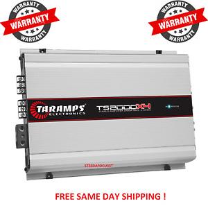 TARAMPS TS 2000X4 Module Amplifier 2000 watts Classe D 4 Channel 500X4W RMS