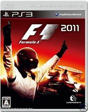 Used PS3 F1: 2011 SONY PLAYSTATION 3 JAPAN JAPANESE IMPORT