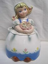 Lefton Dutch Girl Cookie Jar # 2366