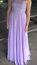 Formal Long Gown Dress Sz 6 Prom Wedding Holiday Lavender