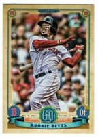 2019 Topps Gypsy Queen Red Sox base Team Set With Betts Sale Pedroia Benintendi