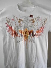 NEW - AS I LAY DYING BAND / CONCERT / MUSIC T-SHIRT SLIM FIT 2XL / X X LARGE