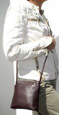 BREE kleine Damen Handtasche lila aubergine Glattleder 17 cm sehr guter Zustand