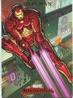 Marvel Masterpieces 2007 Base Card #43 Iron Man