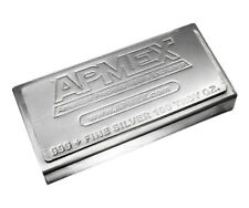 100 oz Silver Bar - APMEX (Stackable) - SKU #50645