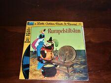 DISNEYLAND Little Golden Book & Record Rumpelstiltskin 33 1/3rpm