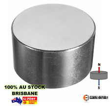 2X Powerful Rare Earth Disc Magnets 60mm X 30mm N48 | Neodymium Industrial