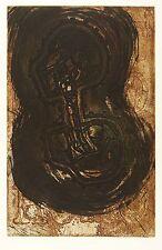 MICHAEL MORGNER - OHNE TITEL (ECCE HOMO) - Farbradierung / Farbaquatinta 1996