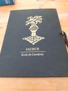 Samur : Ecole de cavalerie 1869 (fascicule + 8 gravures) - Sandoz
