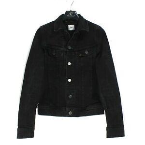 LEE Rider Jacket Men's Jean Jacket Size s Denim Black
