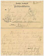 GERMAN South West Africa 1904 SOLDATI mail Feld cartolina Cancelleria... okahandja