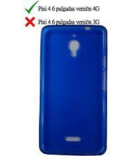 Coque en gel TPU housse protection silicone pour Alcatel Pixi 4 6.0 4G Bleu