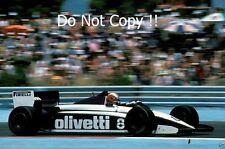Marc sürer Brabham BT54 French Grand Prix 1985 Photo 2