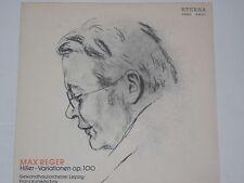 MAX REGER -Hiller - Variationen op. 100- Gewandhausor. LP auf Eterna black Label