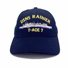 USNS Rainier T-AO 7 Fast Combat Support Ship Baseball Cap United States Navy  c1