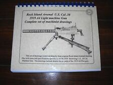 WWII (1939-1945)  Browning Collectible Ordnance Drawings set