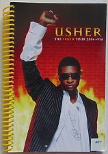 Usher: The Truth Tour 2004 Usa Tour Book / Itinerary backstage Crew Only rare!