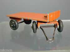 "VINTAGE DINKY TOYS MODEL No.25g TRAILER  (ORANGE VERSION) TINPLATE HOOK ""RARE"""