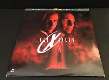 LaserDisc - The X Files Widescreen 1998 David Duchovny Gillian Anderson