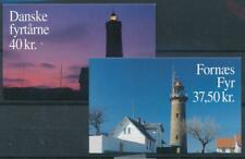 [328359] Denmark 1996 Lighthouses set of 2 good complete booklets very fine MNH