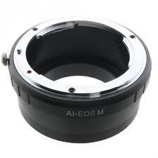 Objektivadapter für Canon EOS mit Nikon F Anschluss