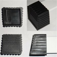 4 ea PVC External End Covers for 2 x 2 Square Tubing - 10 Degree Offset End