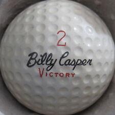 (1) BILLY CASPER VICTORY SIGNATURE LOGO GOLF BALL (CIR 1970) #2