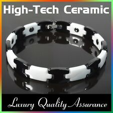 Potenza di energia salute Bracciale in ceramica high-tech Bracciale tungsteno magnetico bio