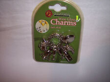 Wine Charms, Sonoma Crest, 6 pcs