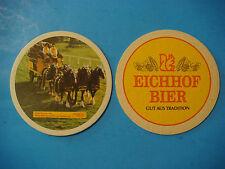 BEER Bar COASTER ~*~ EICHHOF Bier ~^~ Luzern, Switzerland ~*~ Shire Horses Coach